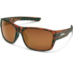 Suncloud Range, Matte Tortoise Frame, Polarized Brown Lens-Not Applicable