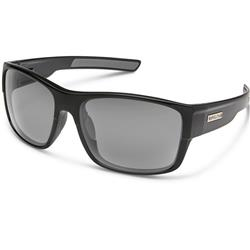 Suncloud Range, Black Frame, Polarized Gray Lens-Not Applicable