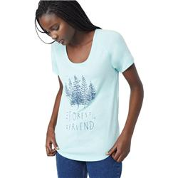tentree Forest T - Womens-Blue Tint