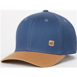 tentree Thicket Hat-Dark Denim Navy / Brown Sugar
