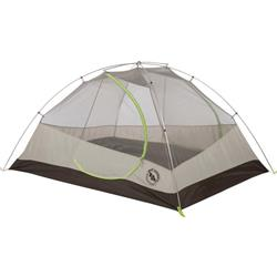 Big Agnes Blacktail 3, 3 Person, 3 Season, Backpacking Tent - Includes Footprint-Gray / Green