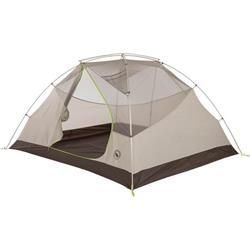 Big Agnes Blacktail 4, 4 Person, 3 Season, Backpacking Tent - Includes Footprint-Gray / Green