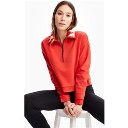Lole Unite Top - Womens-Flame Red