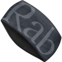 Rab Rab Knitted logo Headband-Anthracite / Grit