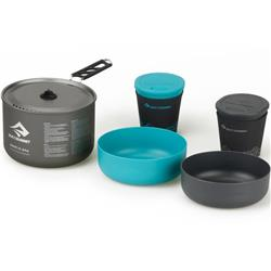 Sea To Summit Alpha Cook Set 2.1 - 1.9L Pot, 2 Bowls, 2 Cups-Not Applicable