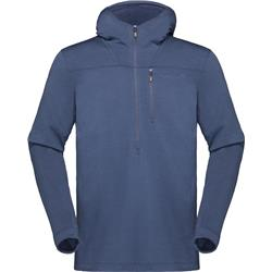 Norrona Svalbard Wool Hood - Mens-Indigo Night