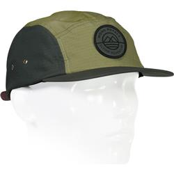 Mons Royale Beattie 5 Panel Cap-Chive / Olive