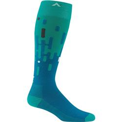 Wigwam Onding Over-the-Calf Socks-Teal