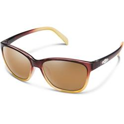 Dawson, Brown Fade Frame, Polarized Sienna Mirror Lens