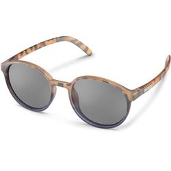 Suncloud Low Key, Matte Tortoise Dark Violet Fade Frame, Polarized Gray Lens-Not Applicable