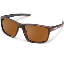 Suncloud Respek, Burnished Brown Frame, Polarized Brown Lens-Not Applicable
