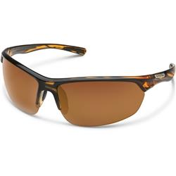 Suncloud Slice, Tortoise Frame, Polarized Brown Lens-Not Applicable