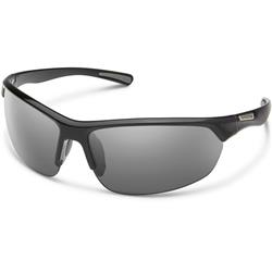 Suncloud Slice, Black Frame, Polarized Gray Lens-Not Applicable