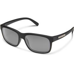 Suncloud Stand, Matte Black Frame, Polarized Gray Lens-Not Applicable