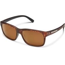 Suncloud Stand, Matte Tortoise Frame, Polarized Brown Lens-Not Applicable