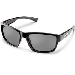Suncloud Suspect, Black Frame, Polarized Gray Lens-Not Applicable