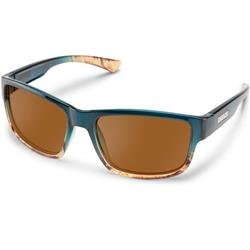 Suncloud Suspect, Ocean Fade Frame, Polarized Brown Lens-Not Applicable