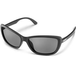 Suncloud Throwback, Matte Black Frame, Polarized Gray Lens-Not Applicable