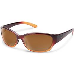 Suncloud Duet, Wine Fade Frame, Polarized Brown Lens-Not Applicable