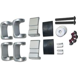 Thule TracRac TracONE Accessory TracONE Toolbox Mount Kit (No Tacoma)-Silver