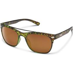 Suncloud Tabor, Treehouse Tortoise Frame, Polarized Brown Lens-Not Applicable