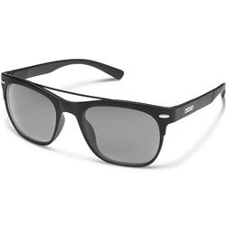 Suncloud Tabor, Matte Black Frame, Polarized Gray Lens-Not Applicable