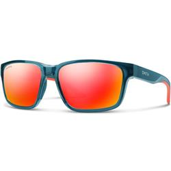 Smith Optics Basecamp, Crystal Mediterranean Frame, Chromapop Red Mirror Lens-Not Applicable