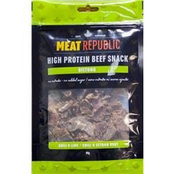 Meat Republic High Protein Beef Snack - 80 g-Chili Lime
