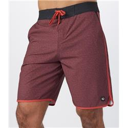 tentree Baja Boardshorts - Mens-Red Mahogany / Baked Apple Red