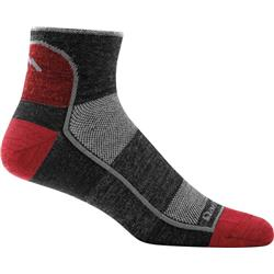 Darn Tough Socks 1/4 Sock Light Socks - Mens-Team DTV