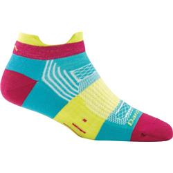 Darn Tough Socks Pulse No Show Tab Light Socks - Womens-Teal