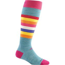 Darn Tough Socks Shortcake OTC Cushion Socks - Womens-Strawberry