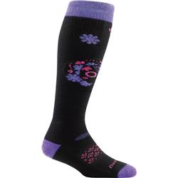 Darn Tough Socks Sugar OTC Cushion Socks - Womens-Black
