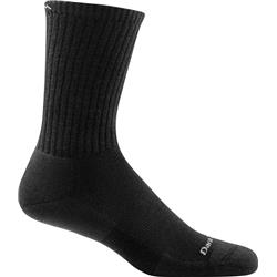 Darn Tough Socks The Standard Crew Light Socks - Mens-Black