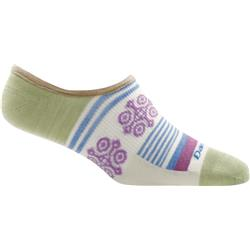Darn Tough Socks Topless Stripe No Show Light Socks - Womens-Natural