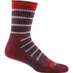 Darn Tough Socks Via Feratta Micro Crew Cushion Socks - Mens-Maroon