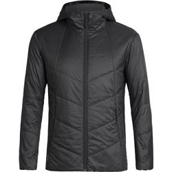 Icebreaker Helix Hooded Jacket - Mens-Black