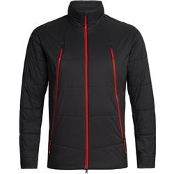 Icebreaker Hyperia Zoned Jacket - Mens-Black