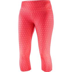 Salomon Agile Mid Tights - Womens-Dubarry / Hibiscus
