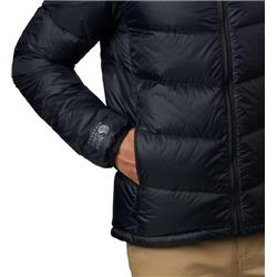 Mountain Hardwear Mt. Eyak Down Jacket - Mens-Black