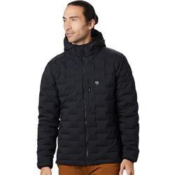 Mountain Hardwear Super/DS Stretchdown Hooded Jacket - Mens-Black