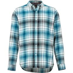 Marmot Harkins Lightweight Flannel LS - Mens-Moroccan Blue