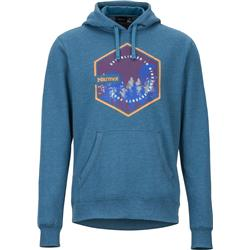 Marmot Peakview Hoody - Mens-Moroccan Blue Heather