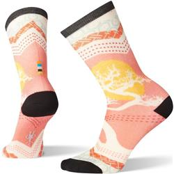Smartwool Curated Bonsai Graphic Crew Socks - Womens-Multi Color