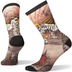 Curated Monkey Lounge Crew Socks - Mens