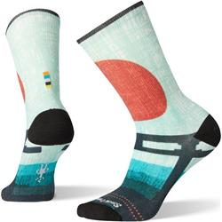Smartwool Curated Torii Gate Crew Socks - Womens-Multi Color
