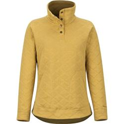Marmot Roice Pulllover LS - Womens-Yellow Gold Heather