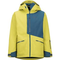 Marmot Androo Jacket - Mens-Citronelle / Moroccan Blue