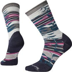 Smartwool Non-Binding Pressure Free Palm Crew Socks - Womens-Deep Navy