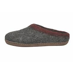 Ambler  Slocan Slippers - Unisex-Heather Charcoal